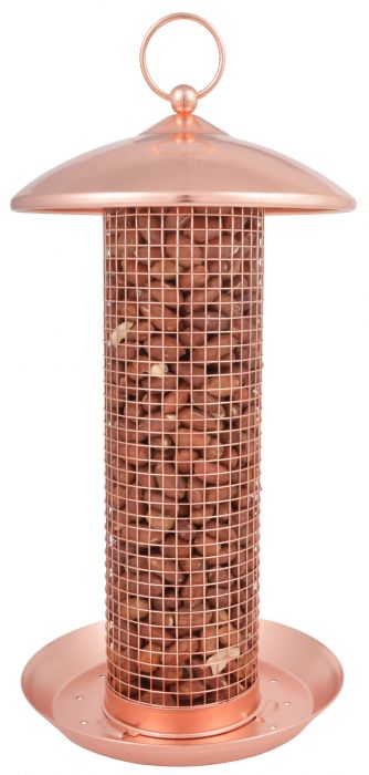 Copper Peanut Bird Feeder - 31cm (1ft)