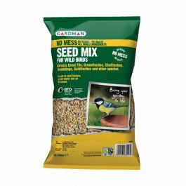 No Mess Seed Mix for Wild Birds by Gardman - 12.75kg