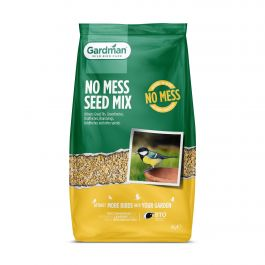 No Mess Seed Mix for Wild Birds by Gardman - 4kg