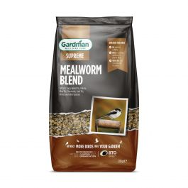 Mealworm Blend Seed Mix for Wild Birds by Gardman - 1.8kg