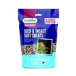 Seed and Insect Suet Treats for Wild Birds by Gardman - 1.1kg