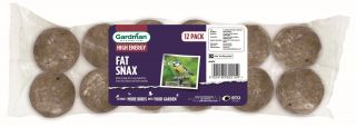 No Nets Fat Snax for Wild Birds by Gardman - Pack of 12