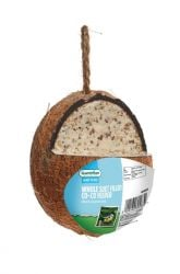 Whole Suet Filled Co-Co Feeder for Wild Birds by Gardman
