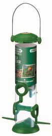 Large Flip Top Seed Feeder for Wild Birds by Gardman