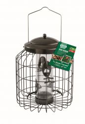 Heavy Duty Squirrel Proof Seed Feeder for Wild Birds by Gardman