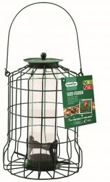 Squirrel Proof Seed Feeder for Wild Birds by Gardman