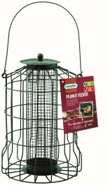 Squirrel Proof Peanut Feeder for Wild Birds by Gardman
