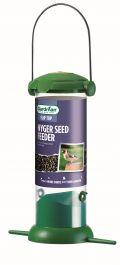 Flip Top Nyjer Seed Feeder for Wild Birds by Gardman