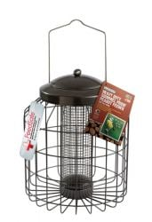 Heavy Duty Squirrel Proof Peanut Feeder for Wild Birds by Gardman