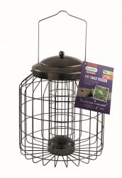 Heavy Duty Squirrel Proof Fat Snax Feeder for Wild Birds by Gardman