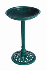 Verdegris Effect Bird Bath by Gardman