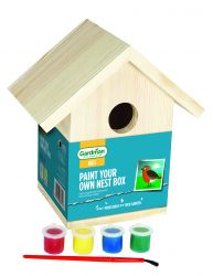 Paint Your Own Nest Box by Gardman