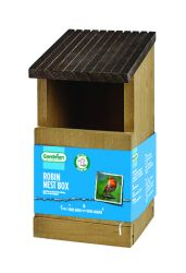Robin Nest Box by Gardman