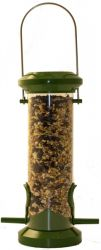 Small Metal Bird Seed Feeder by Red Barn