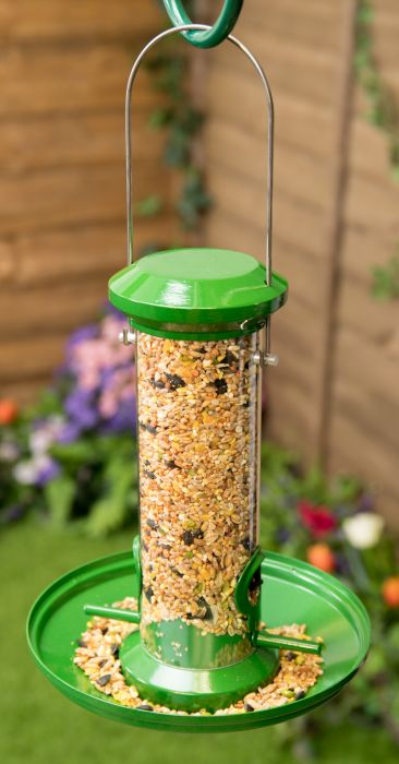 Metal Seed Catcher Tray for Bird Feeder by Red Barn