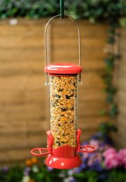 Small Base Release Bird Seed Feeder by Red Barn