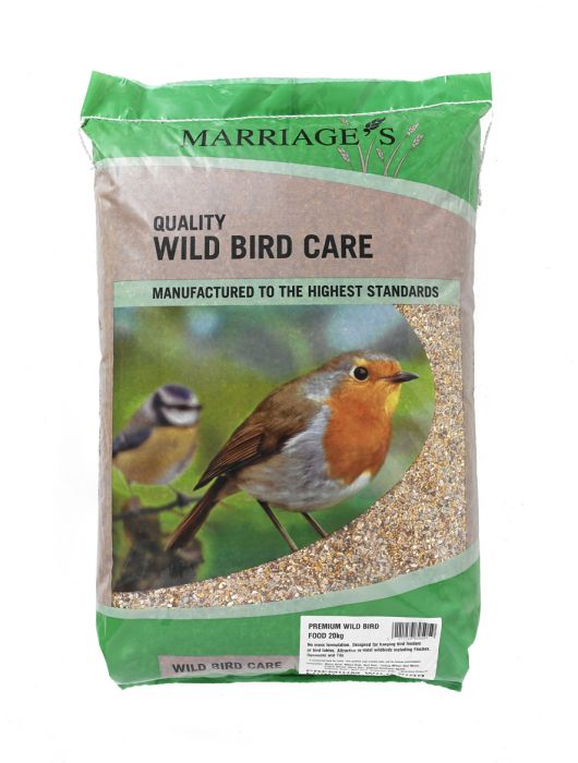 Marriage's Premium Wild Bird Seed Mix - 20Kg