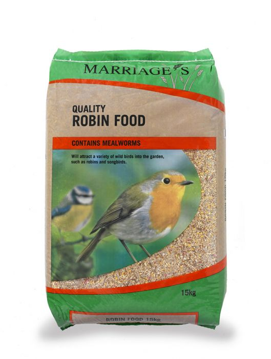 Marriage's Robin Bird Seed Mix - 15Kg