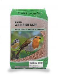 Marriage's Peanuts for Wild Birds - 20Kg