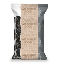 Basics Black Sunflower Seeds for Wild Birds - 500g