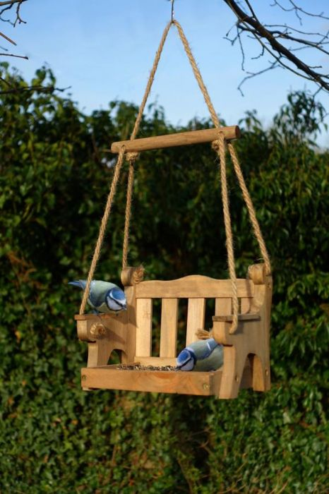 Swingseat Bird Seed Feeder