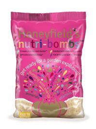 Honeyfields Nutri Bomb Fat Balls for Wild Birds - 4 Pack