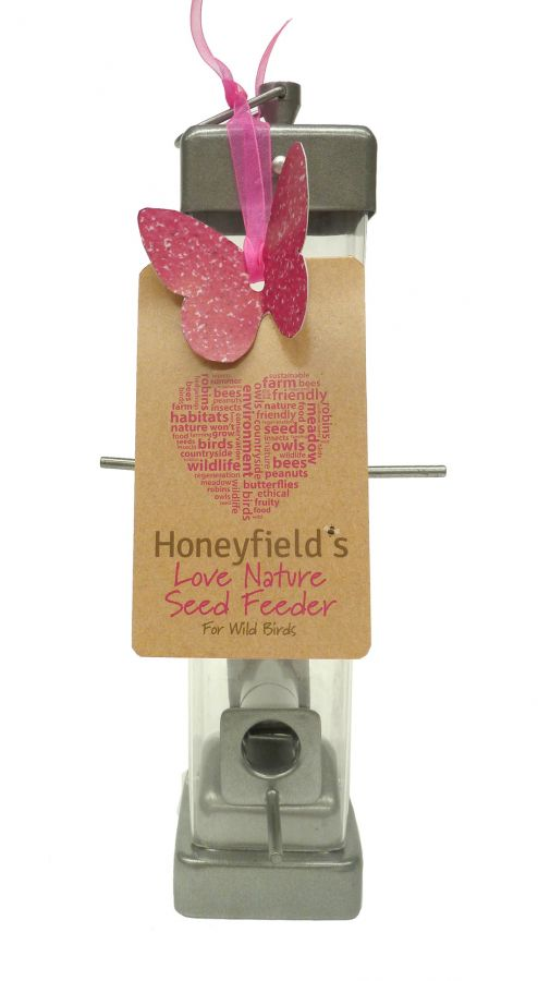 Honeyfields Love Nature Bird Seed Feeder
