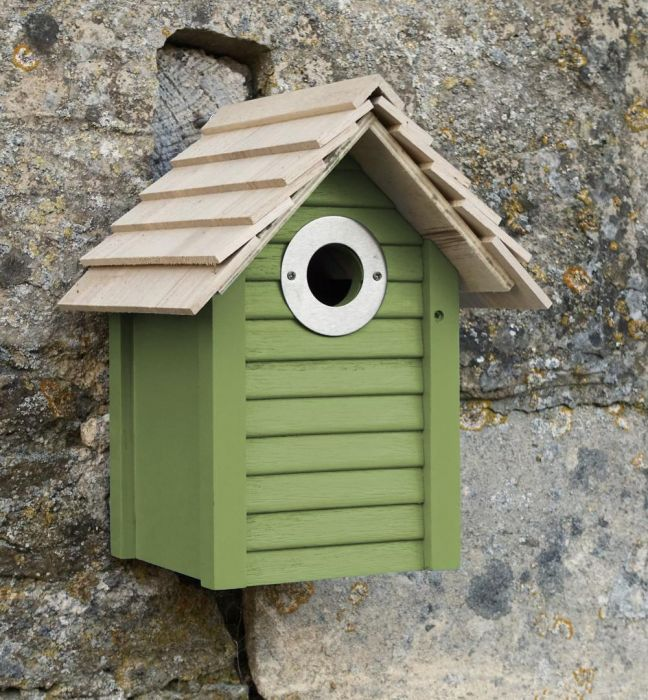 New England Nest Box - Green