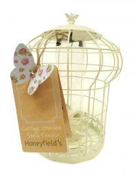 Honeyfields Cottage Garden Squirrel Proof Bird Seed Feeder