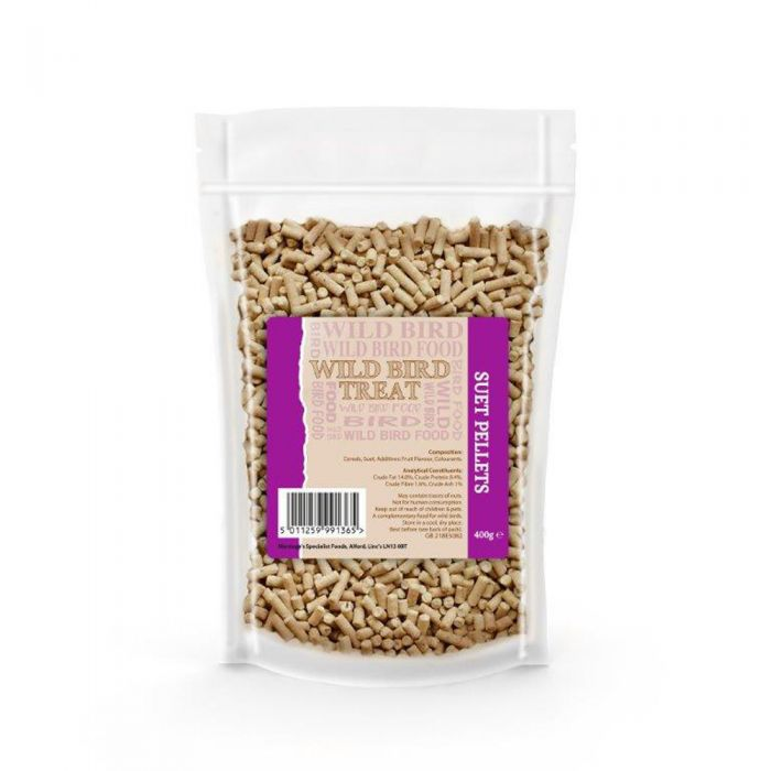Basics High Energy Suet Pellets for Wild Birds - 400g