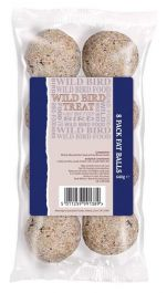 Basics Energy Fat Balls for Wild Birds - 8 Pack