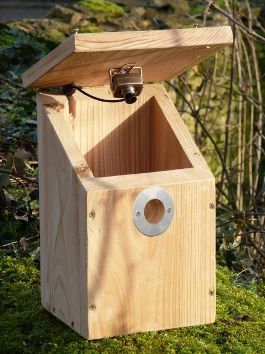 Camera Nestbox With Colour/Infrared Camera