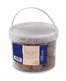 Basics Energy Fat Balls for Wild Birds - Tub of 50