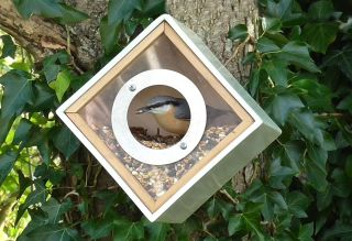 Urban Bird Feeder Box