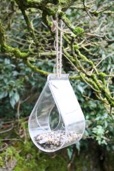 Dewdrop Window Bird Feeder
