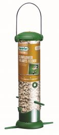 Filled Flip Top Sunflower Hearts Bird Feeder by Gardman