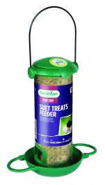 Filled Flip Top Fat Snax Bird Feeder by Gardman