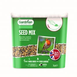 Standard Seed Bird Feed by Gardman - 3Kg Tub