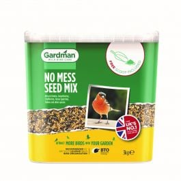 No Mess Seed Bird Feed by Gardman - 3Kg Tub