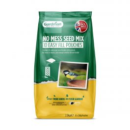 No Mess Seed Mix Easy Fill Pouches for Wild Birds by Gardman