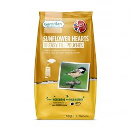 Sunflower Hearts Easy Fill Pouches for Wild Birds by Gardman