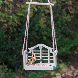 Lutyens Swing Seat Bird Seed Feeder