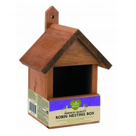 Open Front Robin Nest Box by Smart Garden