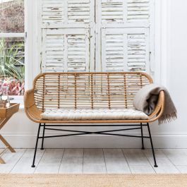 Hampstead All-Weater Bamboo Bench
