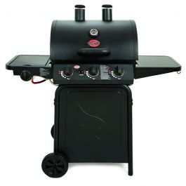 Grillin' Pro Gas BBQ with Side Burner by Char-Griller