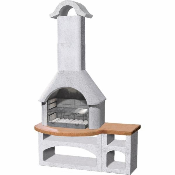 Outdoor Fireplaces Masonry Barbecues 115 from 1999