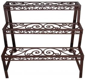 Outdoor Cast Iron Etagere -78.5cm