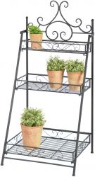 Outdoor Cast Iron Stair Etagere - 114cm