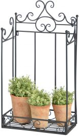 Outdoor Cast Iron Wall Display - 43.3cm