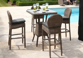 Bali Four Seater Bar Table Set by Bridgman